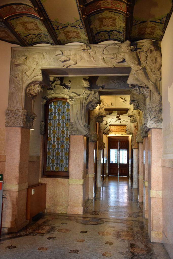 Sculpture Casa LLeo I Morera Barcelone Barcelona