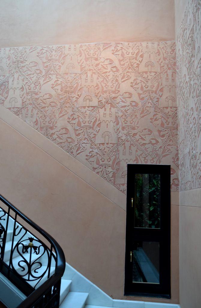 escalier hôtel espana barcelone barcelona