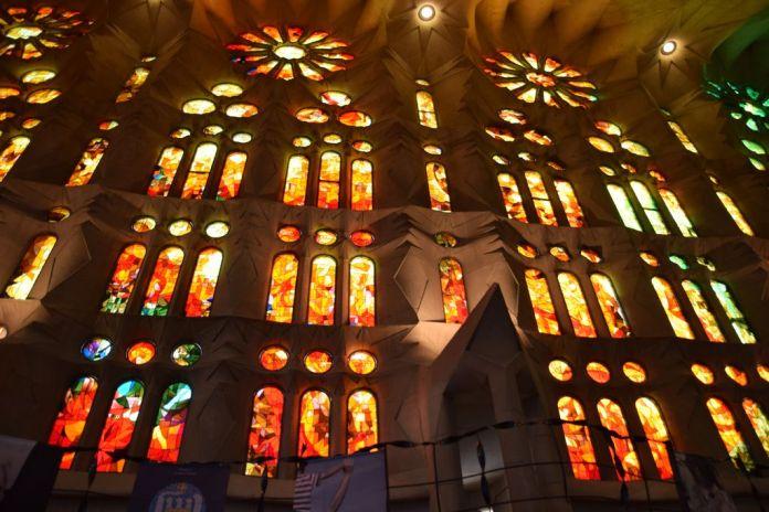 Vitraux Sagrada Familia Barcelone Barcelona