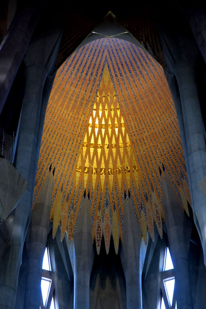 Lumière Sagrada Familia Barcelone Barcelona