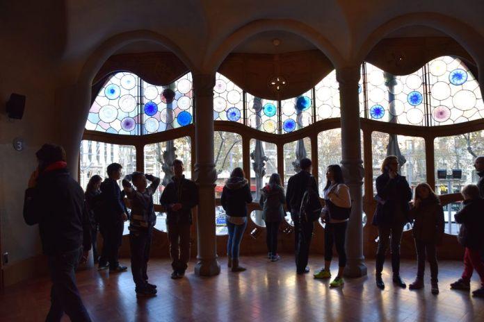 Salon Casa Batllo Barcelone Barcelona