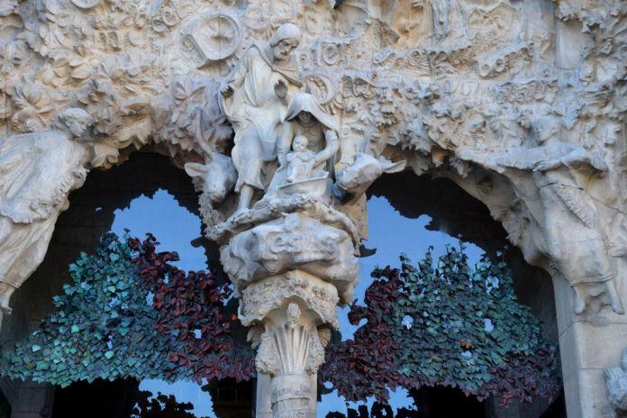 Nativité Sagrada Familia Barcelone Barcelona