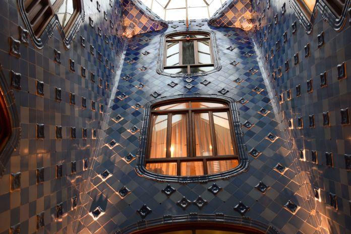Puits de jour Casa Batllo Barcelone Barcelona