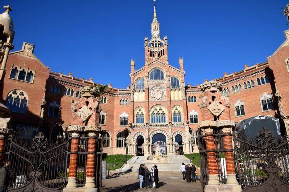 Entrée Sant Pau Barcelone Barcelona