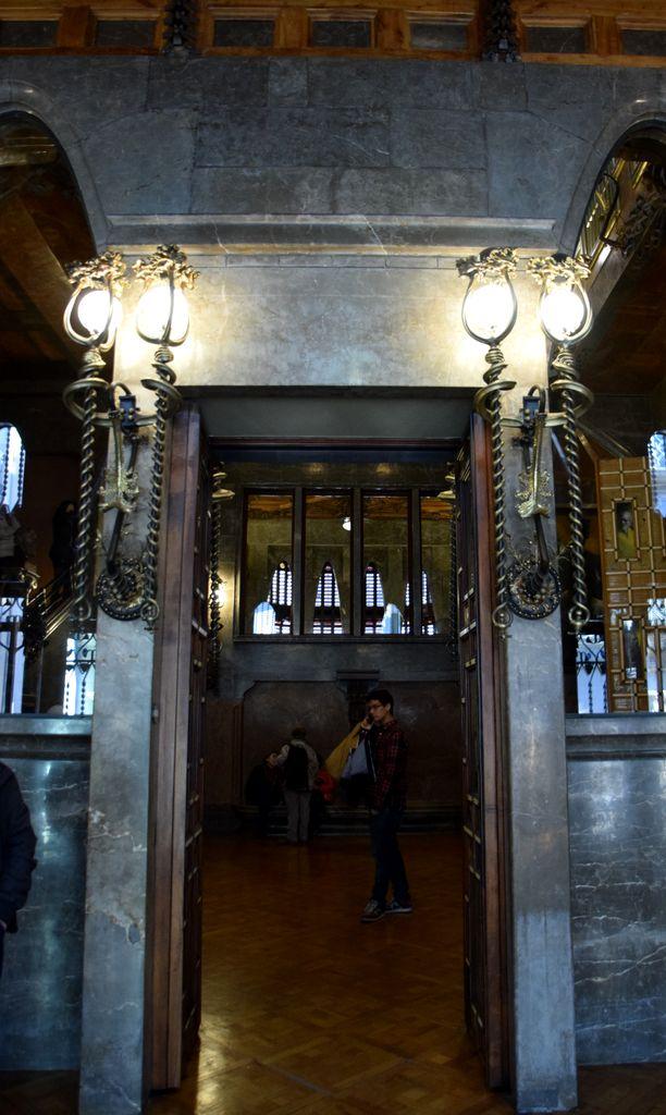 Matériaux Palais Güell Barcelone Barcelona