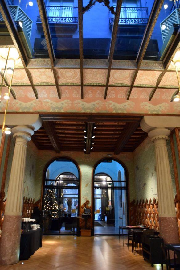 verrière hôtel espana barcelone barcelona