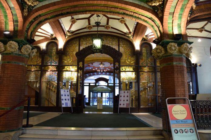 Palais de la musique catalane Barcelone Barcelona