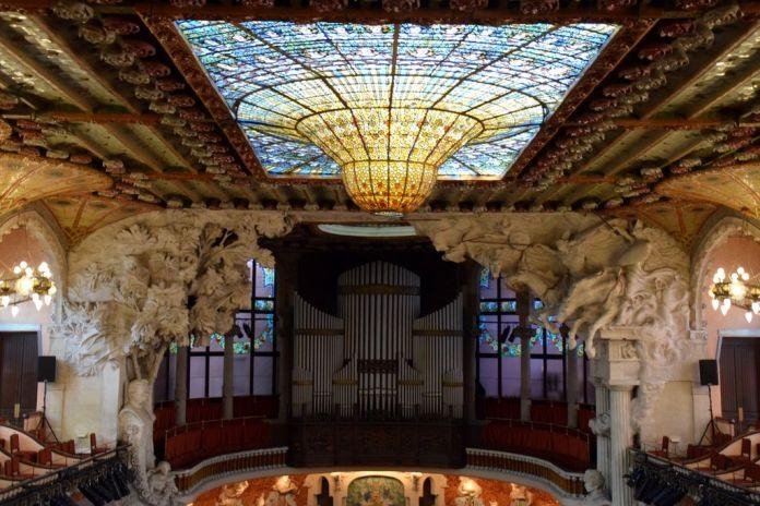 salle Palais de la musique catalane Barcelone Barcelona