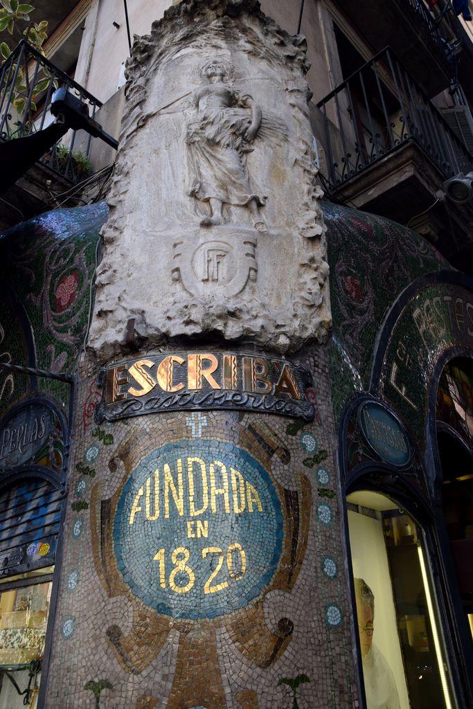 Escriba Barcelone Barcelona