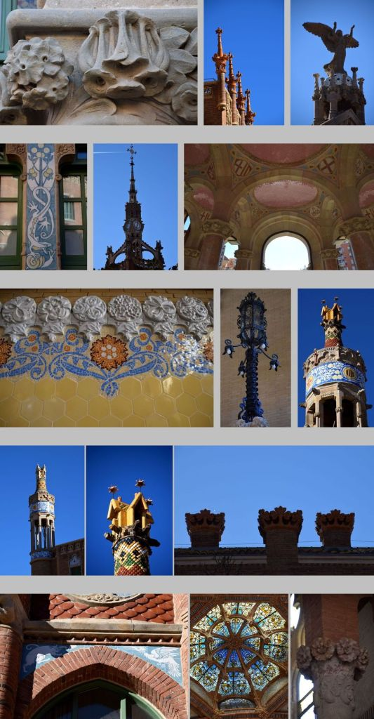 détails Sant Pau Barcelone Barcelona