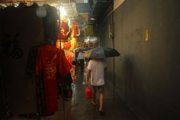 Pluie Hong Kong