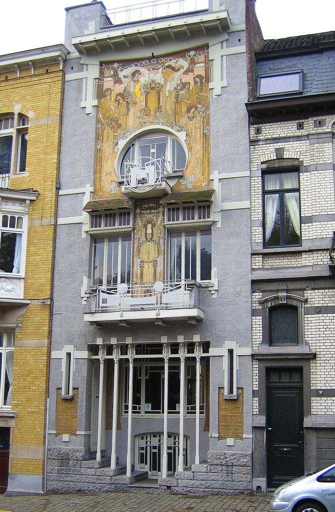 Bruxelles art nouveau art d co city breaks aaa for Art maison deco