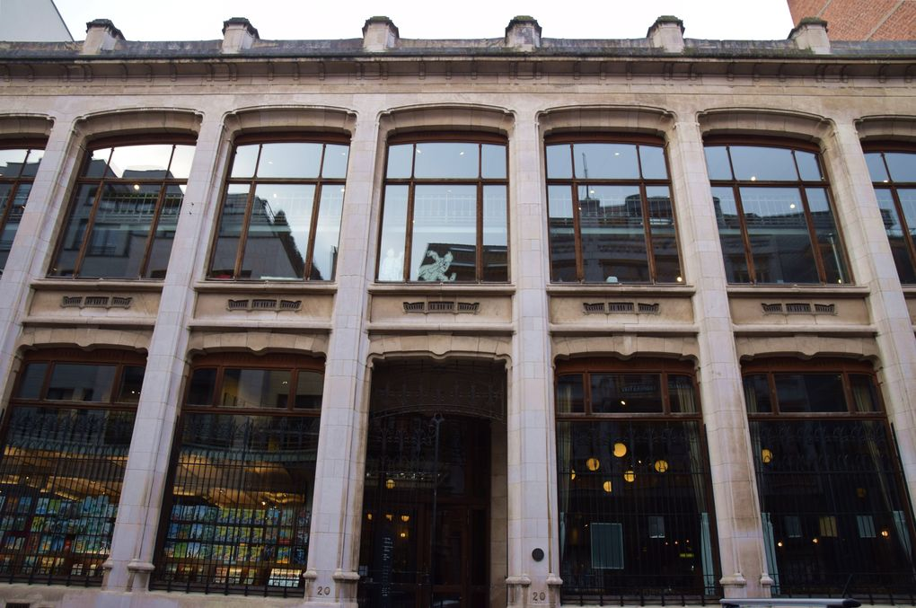 Centre belge de la bande dessinée bruxelles brussels