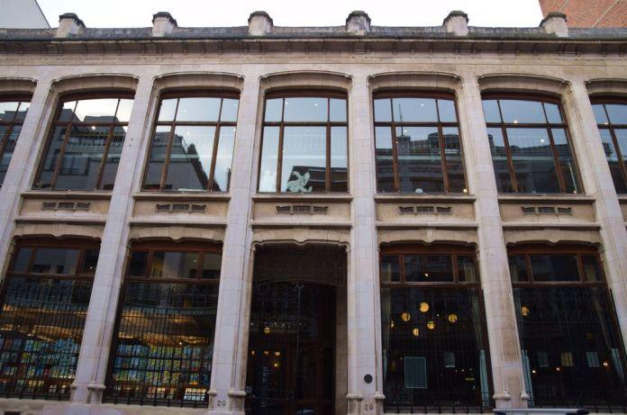Centre belge de la bande dessinée Bruxelles Brussels.