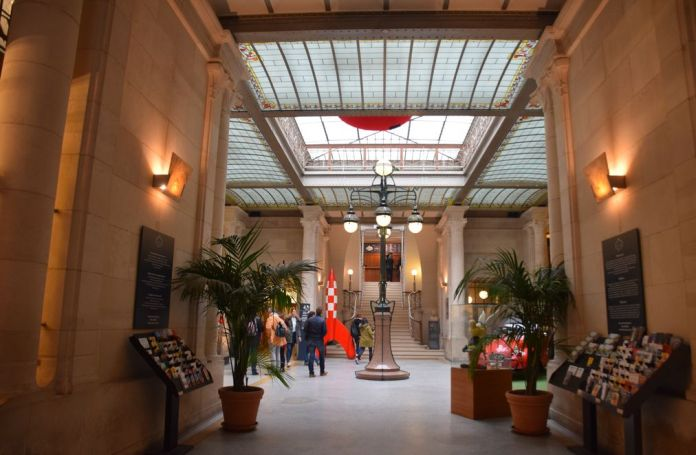 Centre belge de la bande dessinée Bruxelles Brussels intérieur.