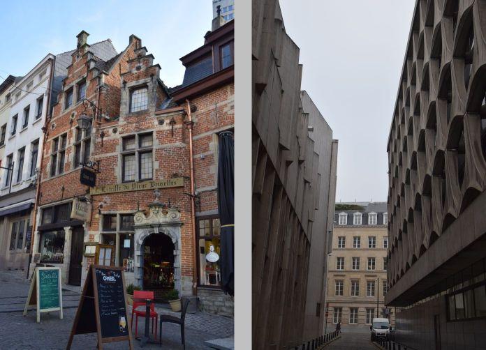 moderne ancien Bruxelles Brussels