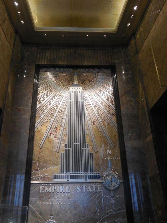Entrée Empire State Building New York