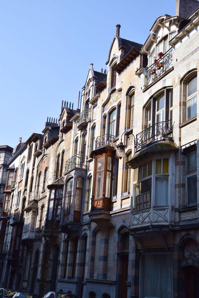Enfilade Art nouveau Bruxelles Brussels