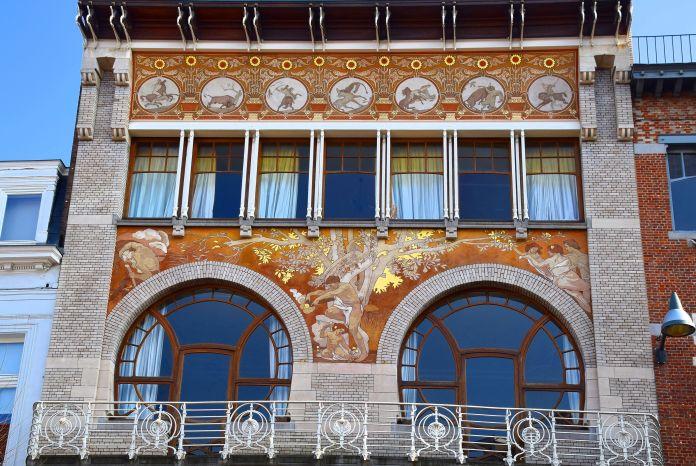 Hôtel Ciamberlani Paul Hankar Bruxelles Brussels
