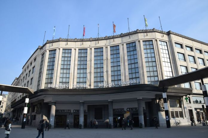 Gare centrale Bruxelles Brussels