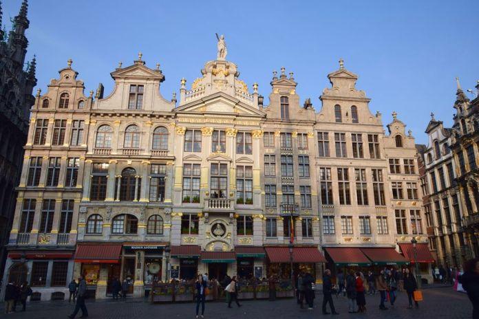 Soleil Grand Place Bruxelles Brussels
