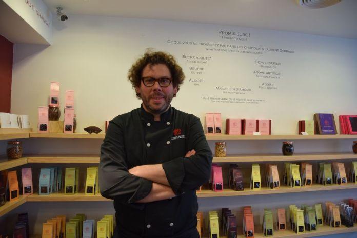 Laurent Gerbaud Chocolats fierté Bruxelles Brussels