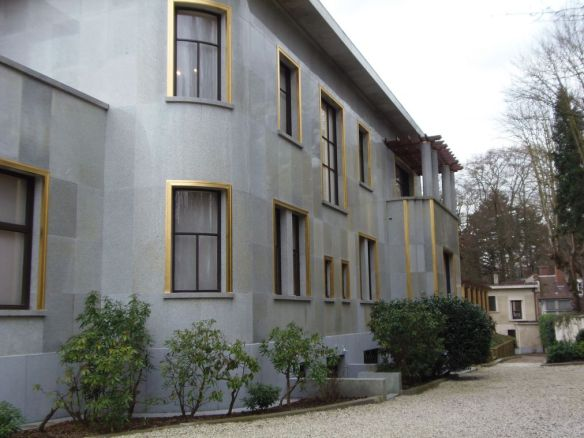 façade Villa Empain Bruxelles Brussels