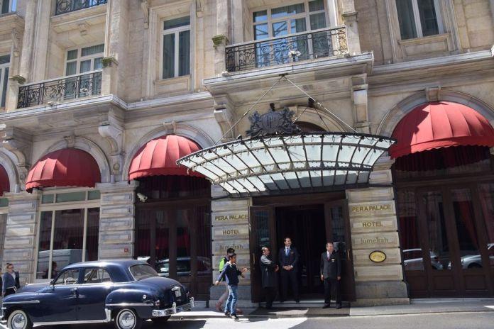 entrée Pera Palace Istanbul