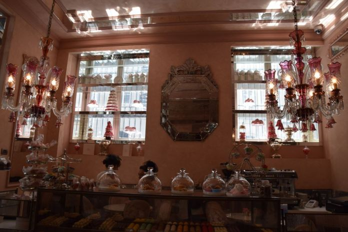Salon de thé Pera Palace Bonbonnière Istanbul