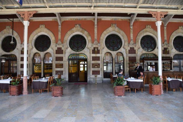 Restaurant Orient Express Istanbul Sirkeci