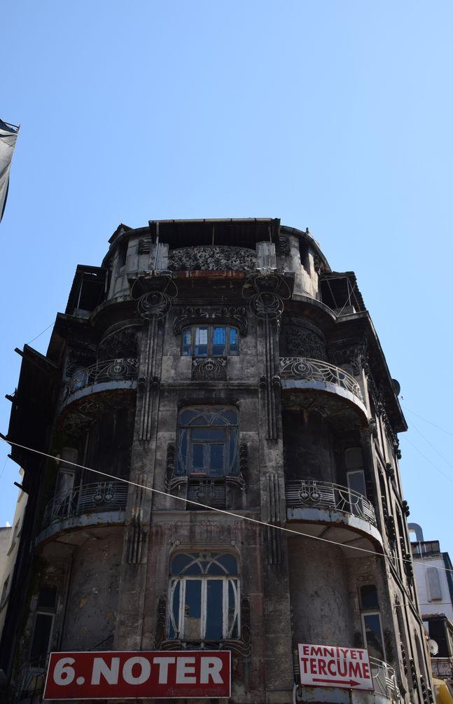 Immeuble Art nouveau Istanbul