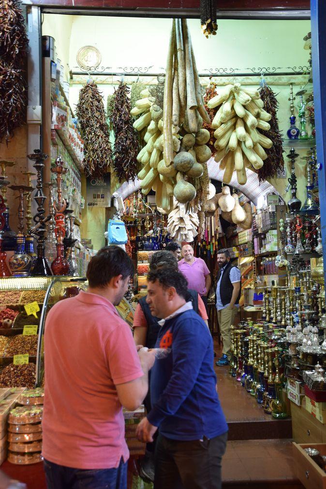 Exotisme bazar égyptien Istanbul