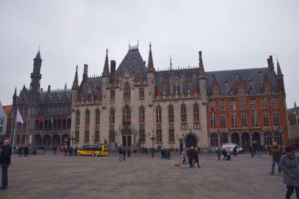 Grand Place Bruges Brugge Hôtel de ville.