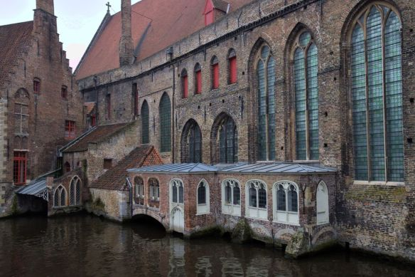 canaux architecture Bruges Brugge