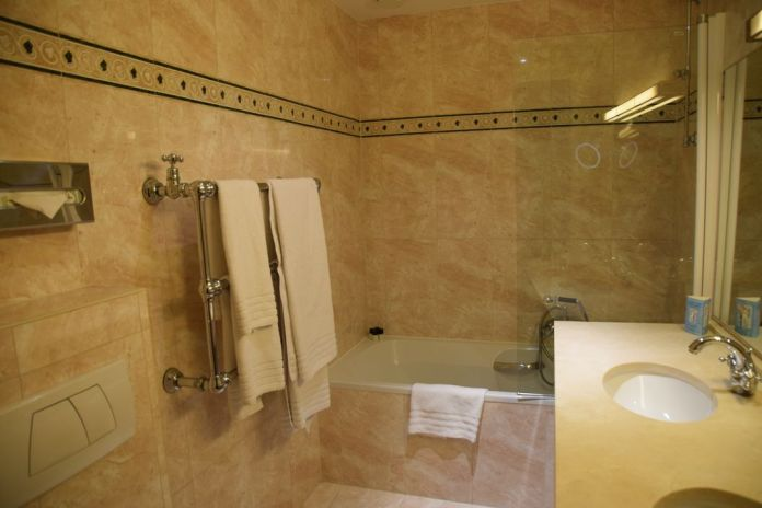 Salle de bains Hôtel Métropole Bruxelles Brussels