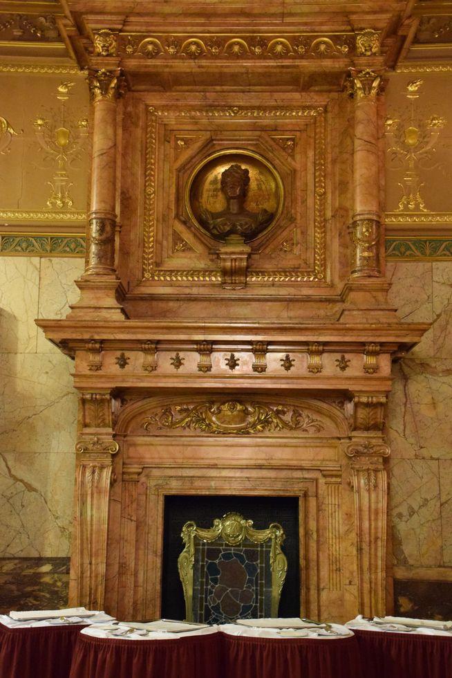 Salle Rubinstein Hôtel Métropole Bruxelles Brussels