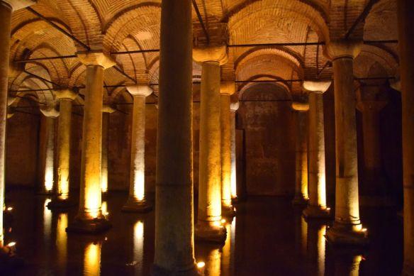 Citerne Basilique Istanbul