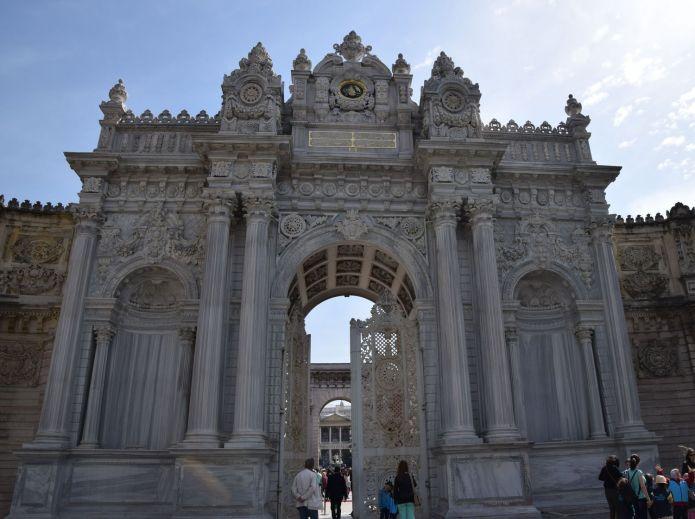 porte principale Domabahçe Istanbul