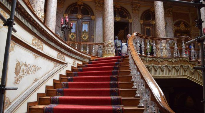 Escalier Dolmabahçe Istanbul