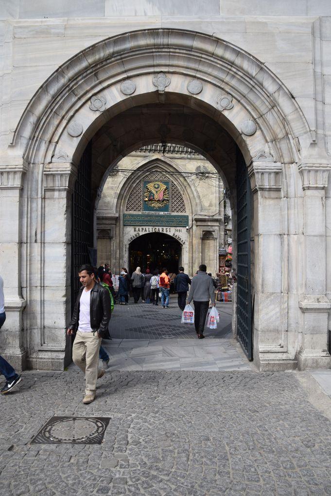 grand bazar istanbul entrée