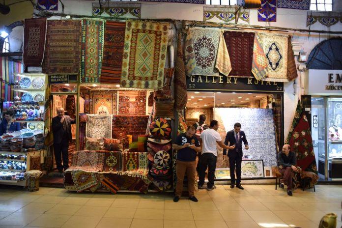 marchand de tapis Grand Bazar Istanbul