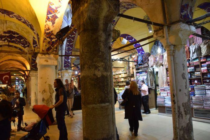 voûtes peintes grand bazar Istanbul