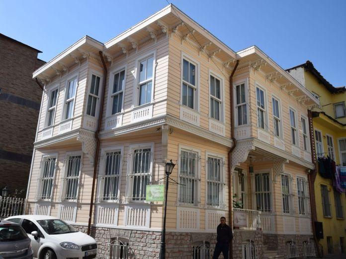 Immeuble bois Istanbul