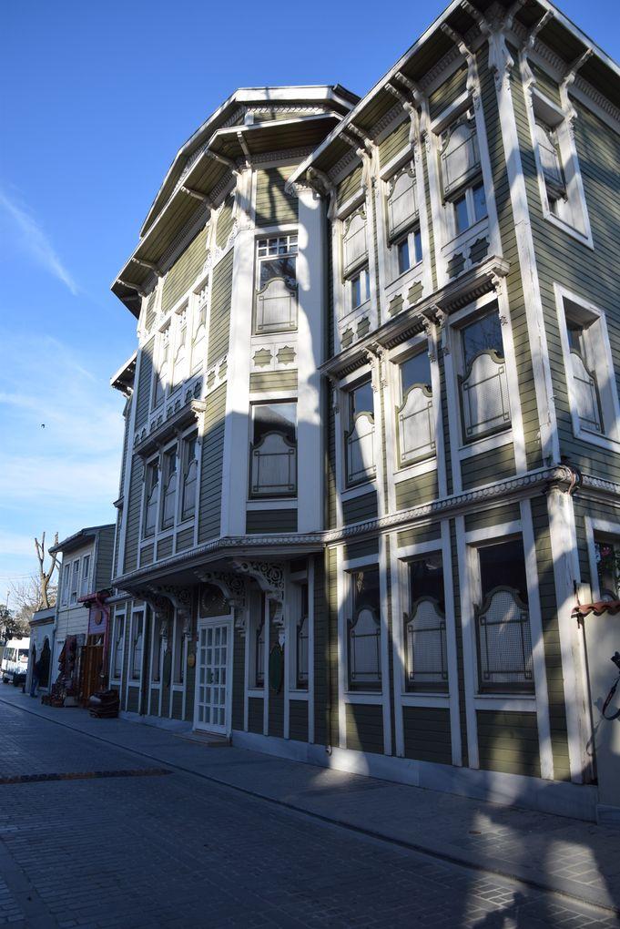 maison bois hôtel