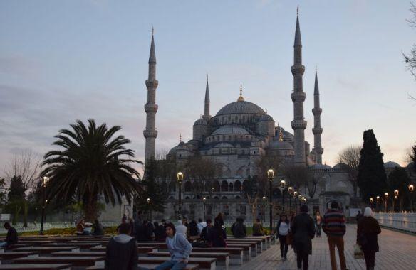 Nuit mosquée bleue istanbul