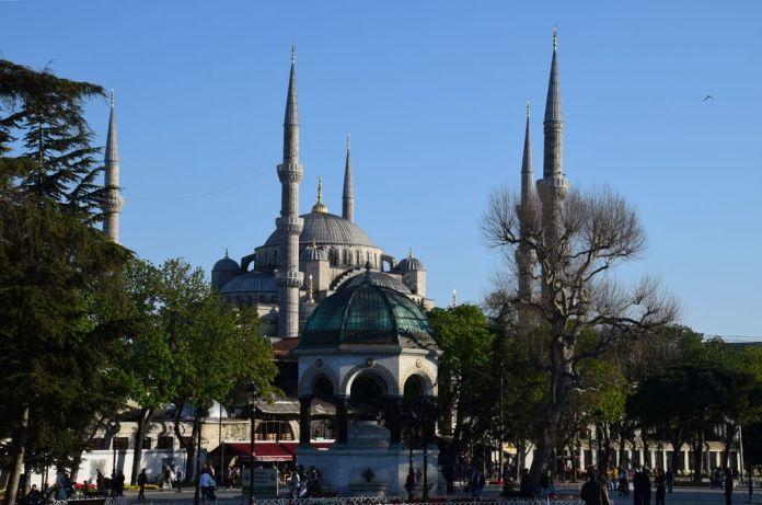 Fontaine du Kaiser Guillaume II Istanbul