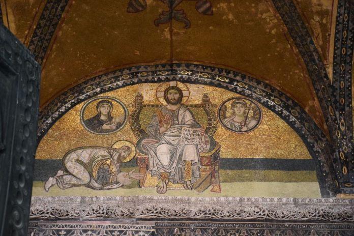 mosaiques sainte-sophie istanbul
