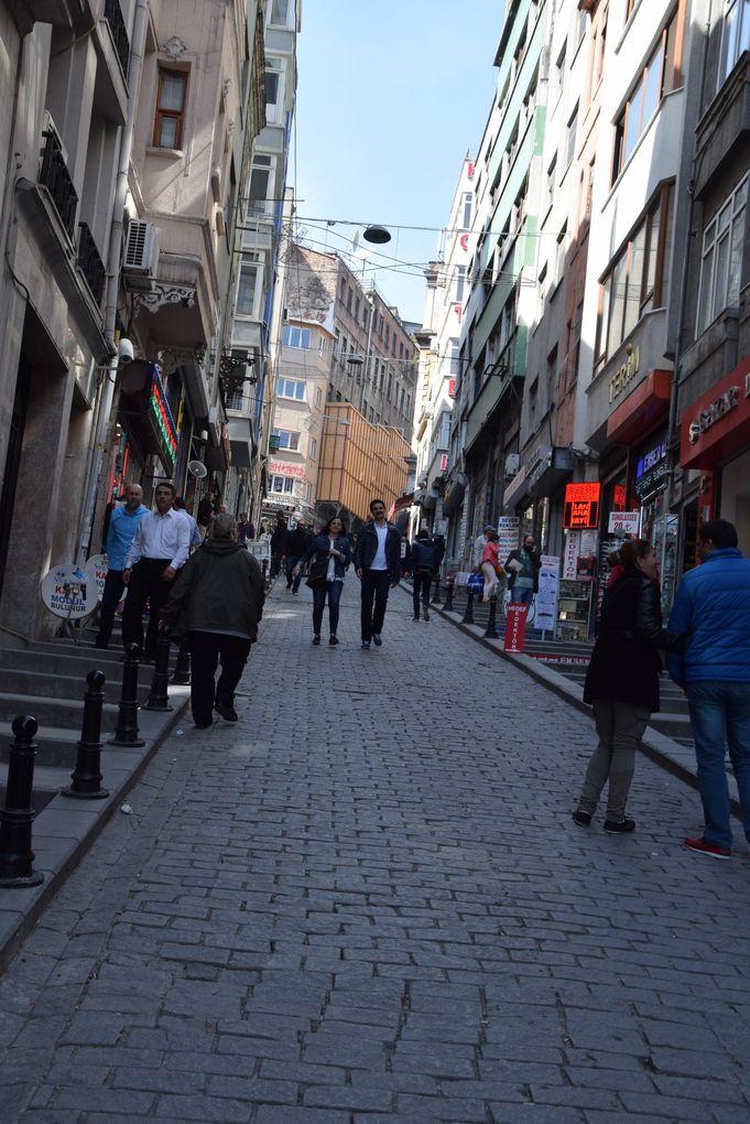 pente des rues istanbul