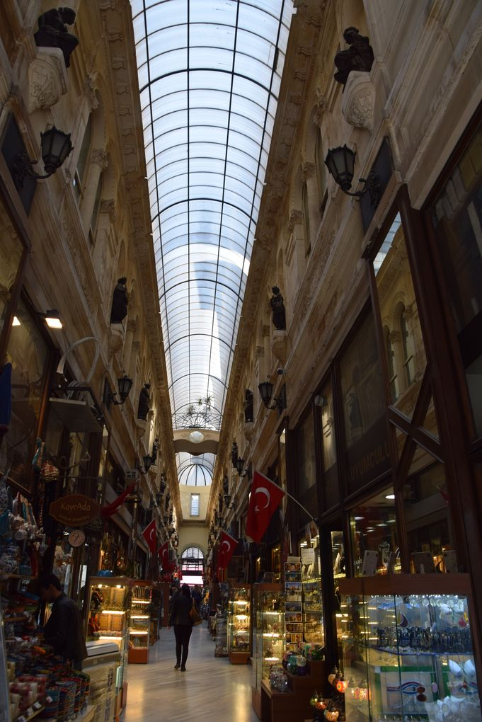 intérieur Avrupa pasaji istanbul