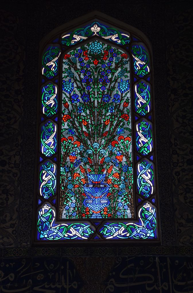 vitraux harem topkapi istanbul